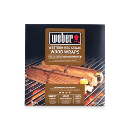 [Weber-17521] Weber® Wood Wraps Western Red Cedar