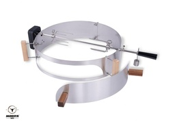 [Moesta-10093] Smokin' PizzaRing - Rotisserie Set (57cm) Batterie